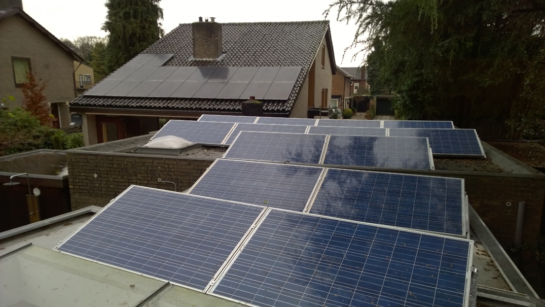 Zonnepanelen garage